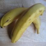 Bananes prêtes à etre séchées