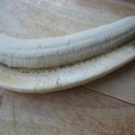 Coupe de la banane en longeur