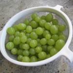 De beaux raisins