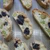 Biscotti aux cerises séchées et aux pistaches