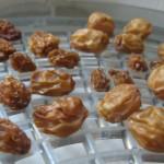 Raisins à la fin du séchage