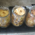 Conservation de la pomme séchée