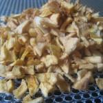 Petit bouts de pomme pour muesli ou gateaux