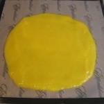 Compote de mangue étalée