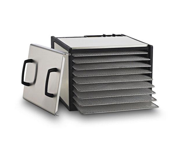 Excalibur 9 plateaux avec minuteur – Inox D900SHD